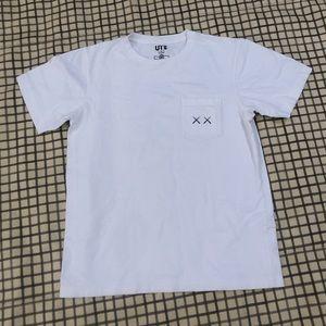 Kaws Sesame Street Pocket Tshirt